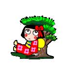 かわいい日本人形ちゃん(個別スタンプ:27)