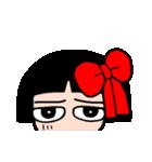 かわいい日本人形ちゃん(個別スタンプ:35)