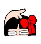 かわいい日本人形ちゃん(個別スタンプ:36)