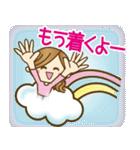 【毎日使える連絡♥】ゆるカジ女子(個別スタンプ:10)