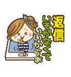 【毎日使える連絡♥】ゆるカジ女子(個別スタンプ:38)