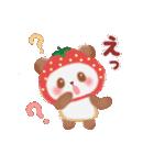 いちごパンダさん(個別スタンプ:32)