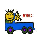 トラックドライバーぽんこつまる(個別スタンプ:2)