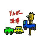 トラックドライバーぽんこつまる(個別スタンプ:3)