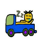 トラックドライバーぽんこつまる(個別スタンプ:16)