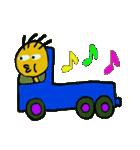 トラックドライバーぽんこつまる(個別スタンプ:17)
