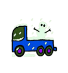 トラックドライバーぽんこつまる(個別スタンプ:21)