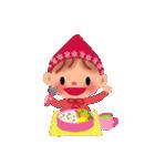 little chiple & うさ太郎(春)(個別スタンプ:18)