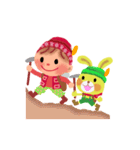 little chiple & うさ太郎(春)(個別スタンプ:23)