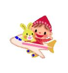 little chiple & うさ太郎(春)(個別スタンプ:25)