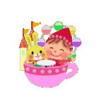 little chiple & うさ太郎(春)(個別スタンプ:29)
