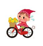 little chiple & うさ太郎(春)(個別スタンプ:34)