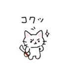 猫ピッチャー(個別スタンプ:05)