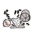 猫ピッチャー(個別スタンプ:30)