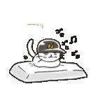 猫ピッチャー(個別スタンプ:35)