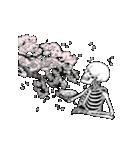 骨のスタンプ7(個別スタンプ:01)