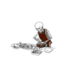 骨のスタンプ7(個別スタンプ:13)