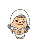 ほっかむりちゃん(個別スタンプ:08)