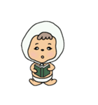 ほっかむりちゃん(個別スタンプ:11)