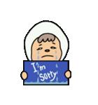 ほっかむりちゃん(個別スタンプ:40)