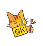 いつものネコたち(個別スタンプ:03)