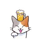 いつものネコたち(個別スタンプ:15)