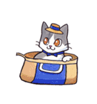 いつものネコたち(個別スタンプ:18)