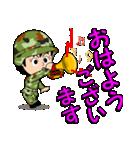 迷彩ガール2【先輩・後輩】(個別スタンプ:02)