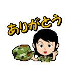 迷彩ガール2【先輩・後輩】(個別スタンプ:13)