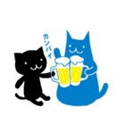 親友におくる黒猫スタンプ(個別スタンプ:08)