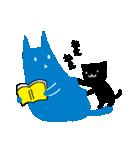 親友におくる黒猫スタンプ(個別スタンプ:24)