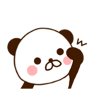 どあっぷパンダさん(個別スタンプ:6)