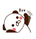どあっぷパンダさん(個別スタンプ:40)