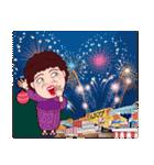 おもしろい大阪のおばちゃんPART2(個別スタンプ:38)