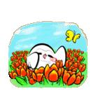 シロウくん 春(個別スタンプ:1)