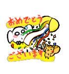 シロウくん 春(個別スタンプ:4)