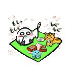 シロウくん 春(個別スタンプ:15)