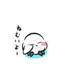 シロウくん 春(個別スタンプ:20)