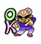 天使のピンクおばあちゃん(個別スタンプ:01)