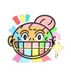 天使のピンクおばあちゃん(個別スタンプ:10)