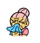 天使のピンクおばあちゃん(個別スタンプ:12)