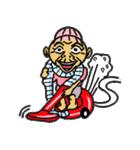 天使のピンクおばあちゃん(個別スタンプ:36)