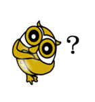 【セレブ専用】黄金フクロウでUP!(個別スタンプ:14)