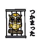 【セレブ専用】黄金フクロウでUP!(個別スタンプ:21)