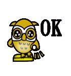【セレブ専用】黄金フクロウでUP!(個別スタンプ:31)