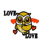 【セレブ専用】黄金フクロウでUP!(個別スタンプ:40)