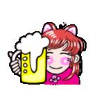 関西弁!ほのぼの猫ちゃん女の子(個別スタンプ:9)