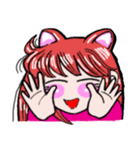 関西弁!ほのぼの猫ちゃん女の子(個別スタンプ:12)