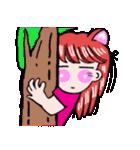 関西弁!ほのぼの猫ちゃん女の子(個別スタンプ:16)