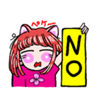 関西弁!ほのぼの猫ちゃん女の子(個別スタンプ:26)
